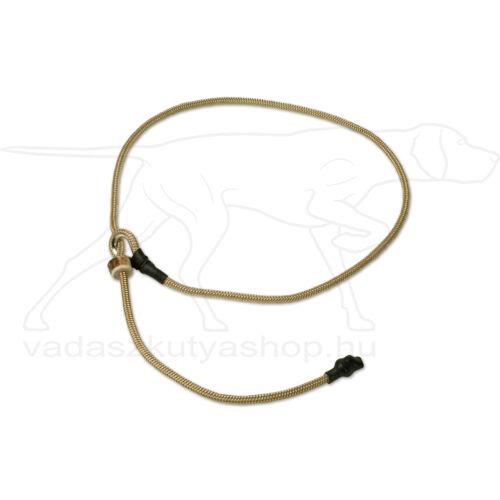"""Mystique® Field trial moxon """"Short leash"""" póráz 4mm 80cm bézs"""
