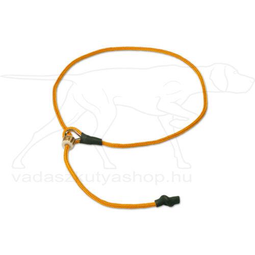 """Mystique® Field trial moxon """"Short leash"""" póráz 4mm 80cm narancssárga"""