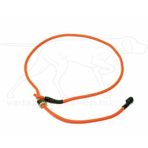 "Mystique® Field trial moxon ""Short leash"" póráz 4mm 65cm neon narancssárga"