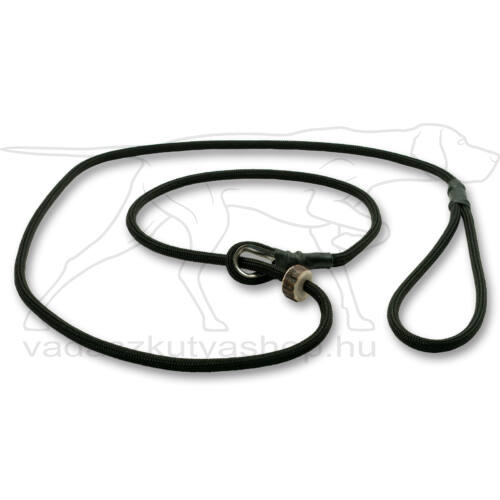Mystique® Field trial moxon póráz 6mm 130cm fekete