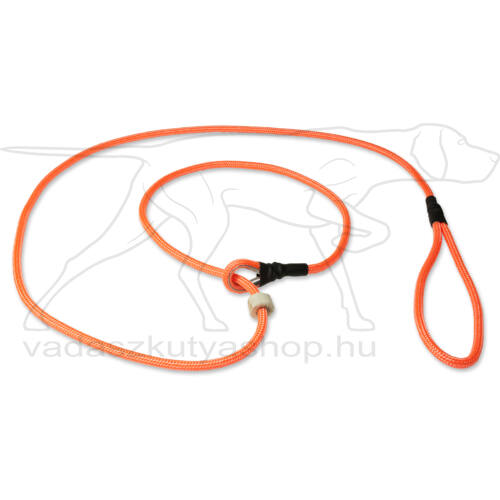 Mystique® Field trial moxon póráz 6mm 150cm neon narancssárga