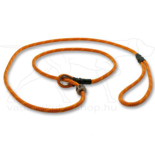 Mystique® Field trial moxon póráz 6mm 130cm narancssárga/piros