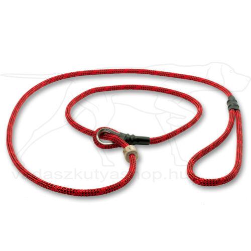 Mystique® Field trial moxon póráz 6mm 130cm piros/fekete