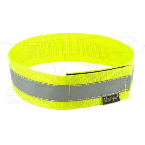 Mystique® Fényvisszaverő nyakörv 60cm neonsárga